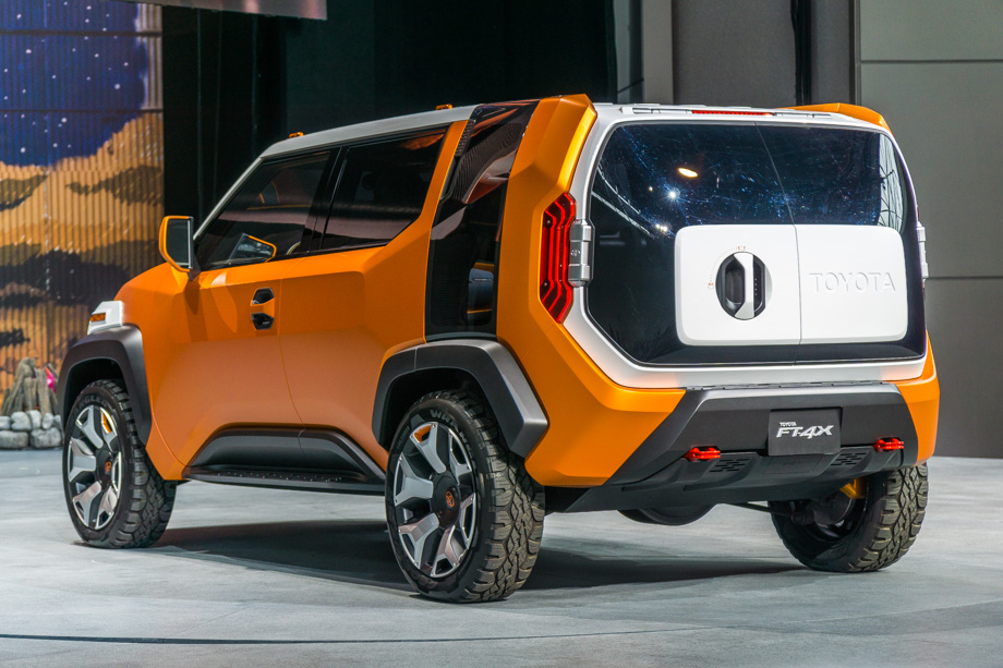 Toyota's FT-4X Concept Appeals To The Casualcore Explorers Among Us