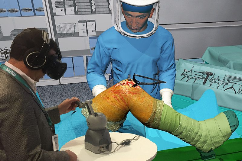 Startup Lets Doctors Practice Surgery With Medical VR