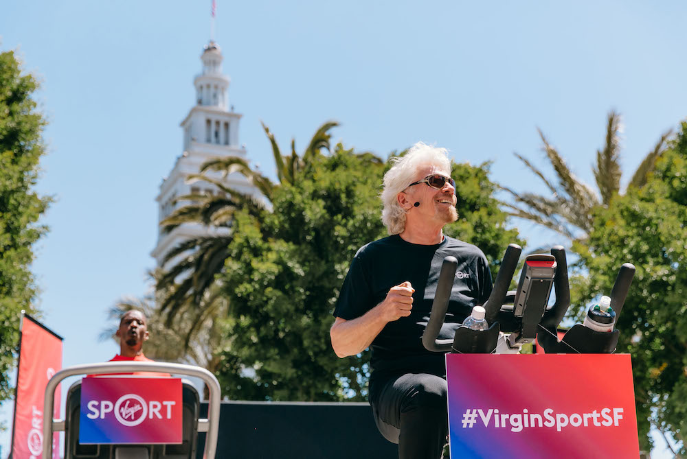Richard Branson On Why He's Launching Virgin Sport
