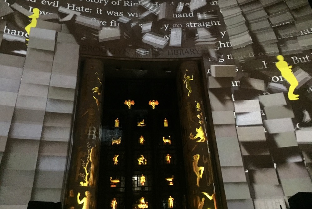 Public Library Commissions Projection-Mapped Artwork For Special Series