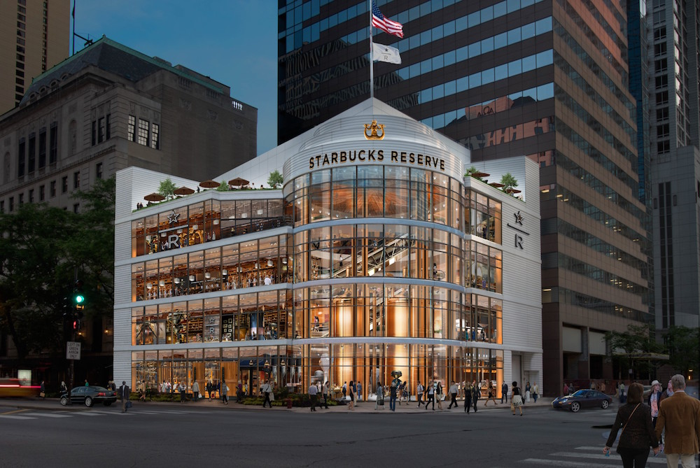 Starbucks Is Opening A Four Story Flagship In Chicago