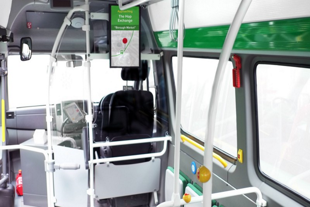 A Private Company Tests A Smart Bus For The Public In London