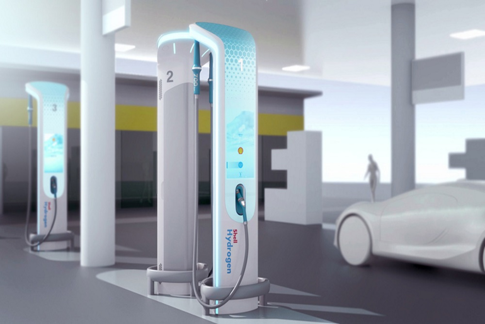 BMW's Concept Design Shows How Hydrogen Stations Could Replace Gasoline