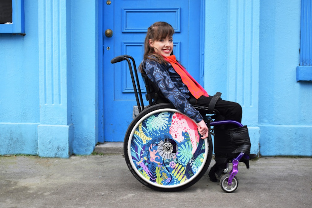 Wheelchairs Become A Fashion Statement With These Designer Covers