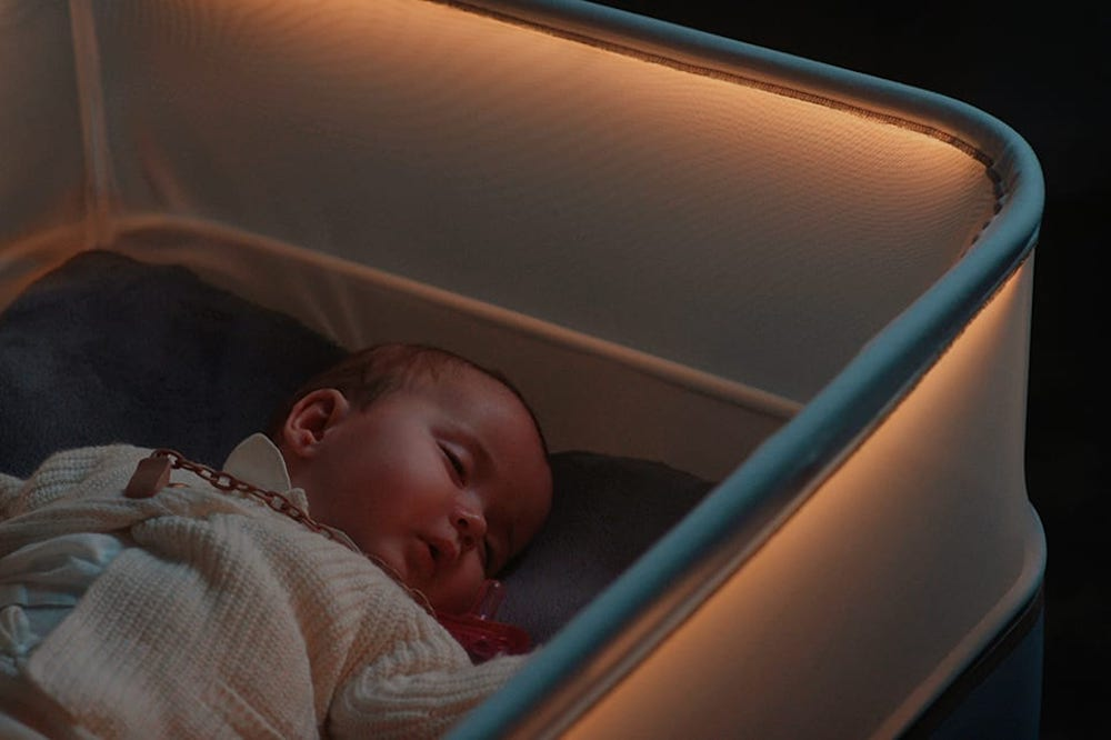 Crib Simulates A Moving Car To Help Babies Sleep