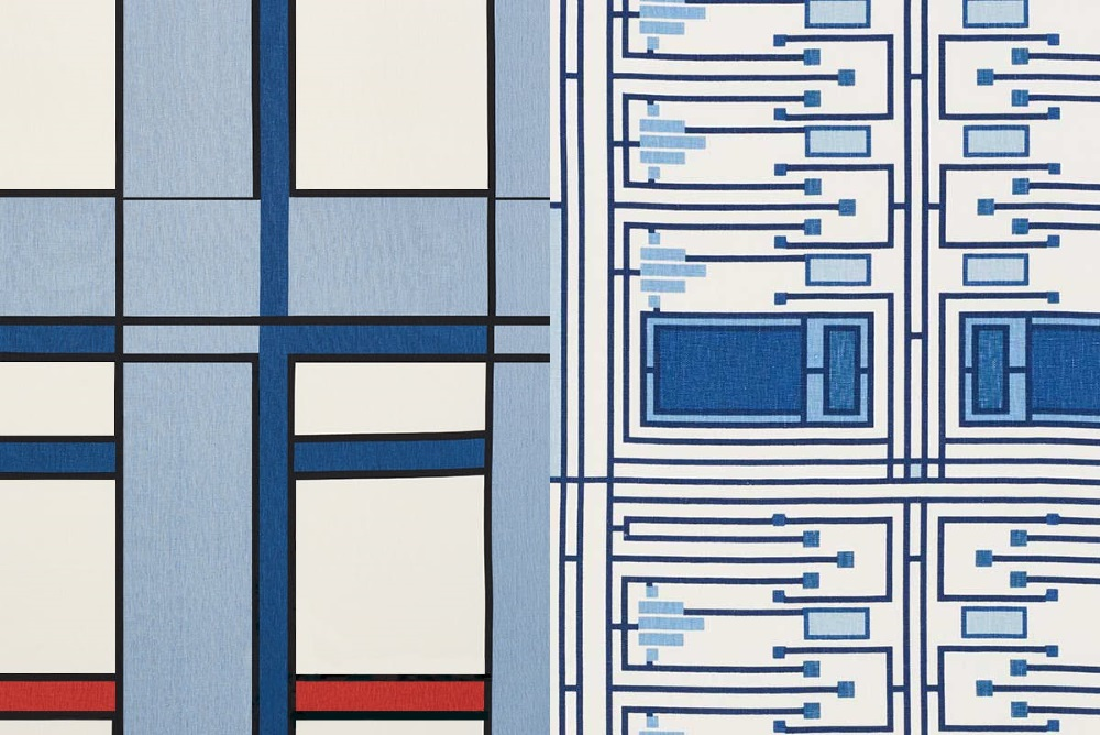 Home Textiles Based On The Patterns Of Frank Lloyd Wright