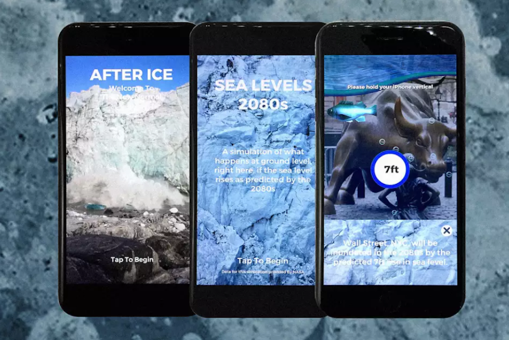 Augmented Reality Shows What Would Happen If The World's Ice Melts