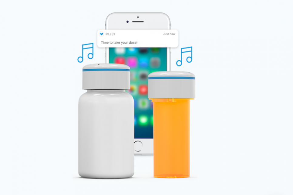 Bluetooth Pill Cap Reminds Patients To Take Their Medicine
