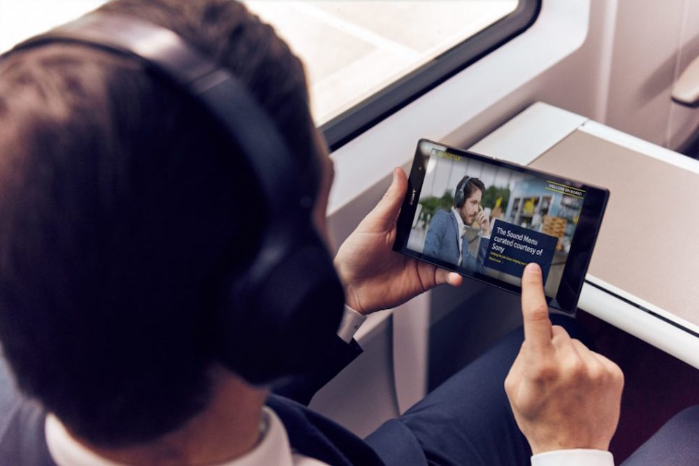 Mood-Altering Playlists Help Eurostar Business Travelers Relax