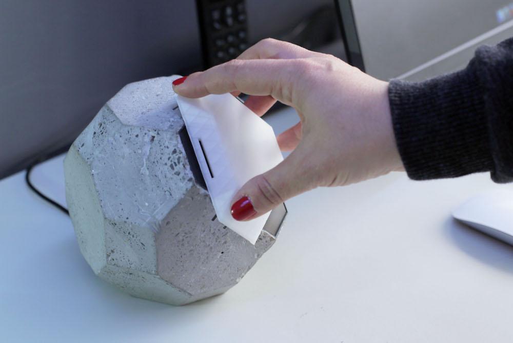 Desktop Sculpture Brings Tactility To Online Security