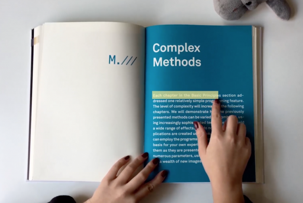 Physical Books Transformed Into A Digital Reading Experience