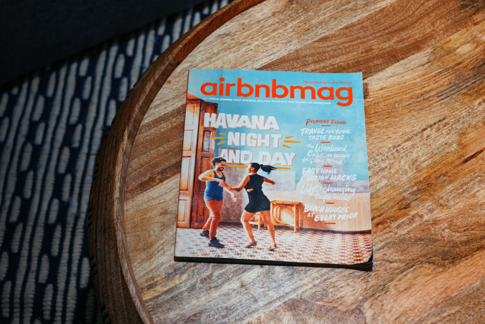 Airbnb Launches A Print Magazine
