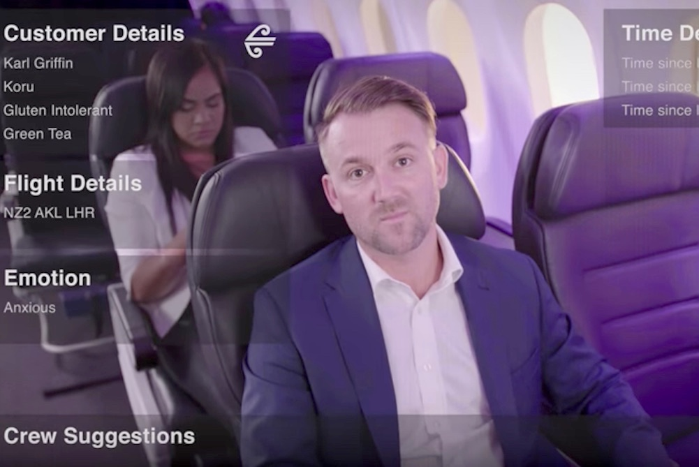 Air New Zealand Is Bringing Augmented Reality Into The Cabin