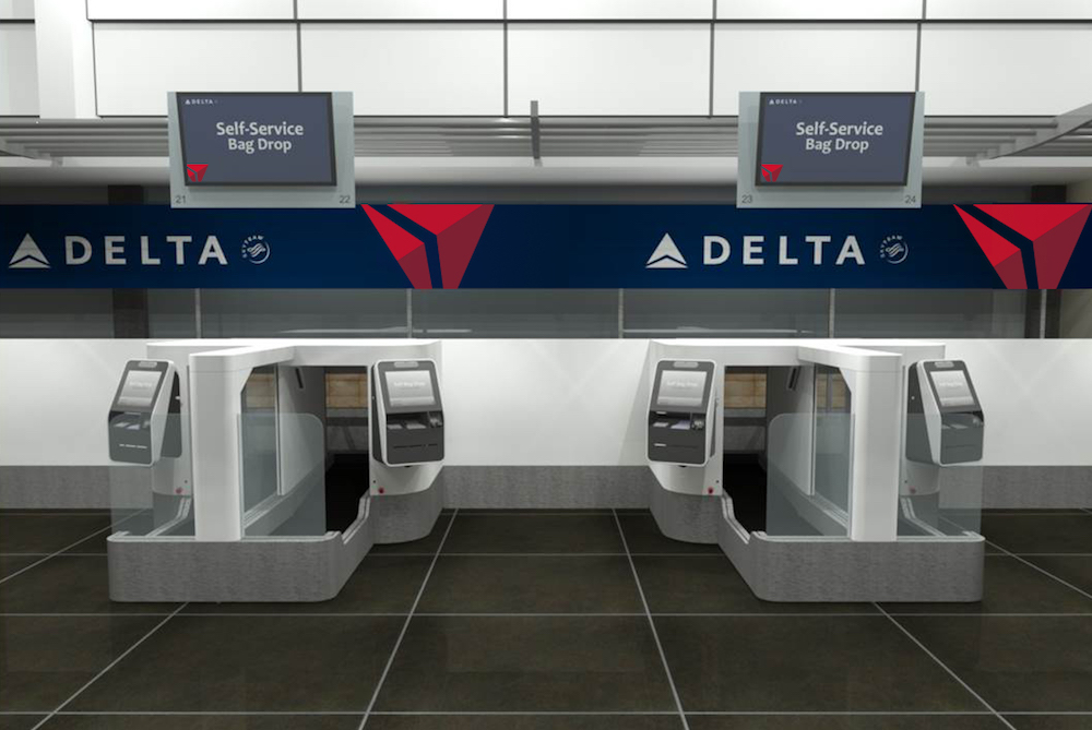Delta Is Introducing Biometric Self-Service Bag Drops For Faster Check-In