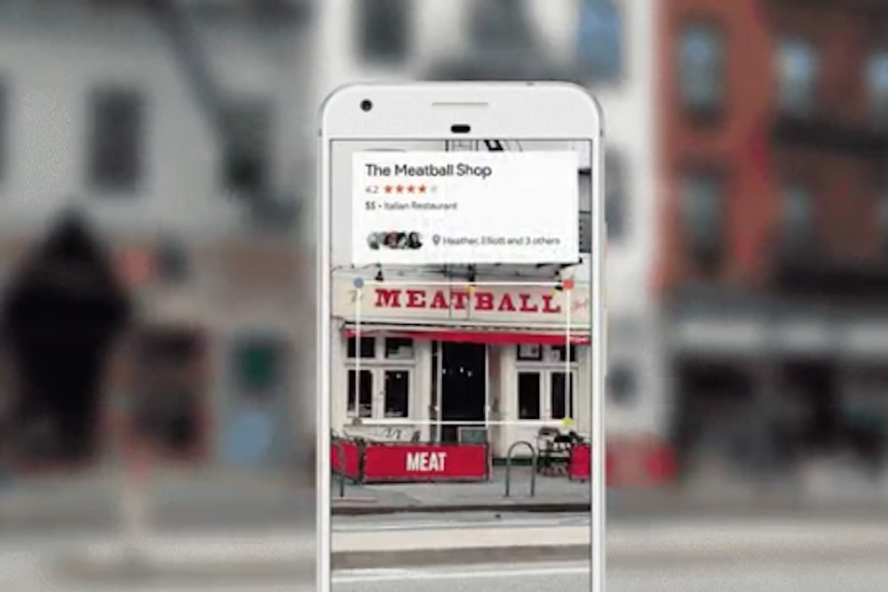 Google A Restaurant Just By Pointing Your Phone Camera At It