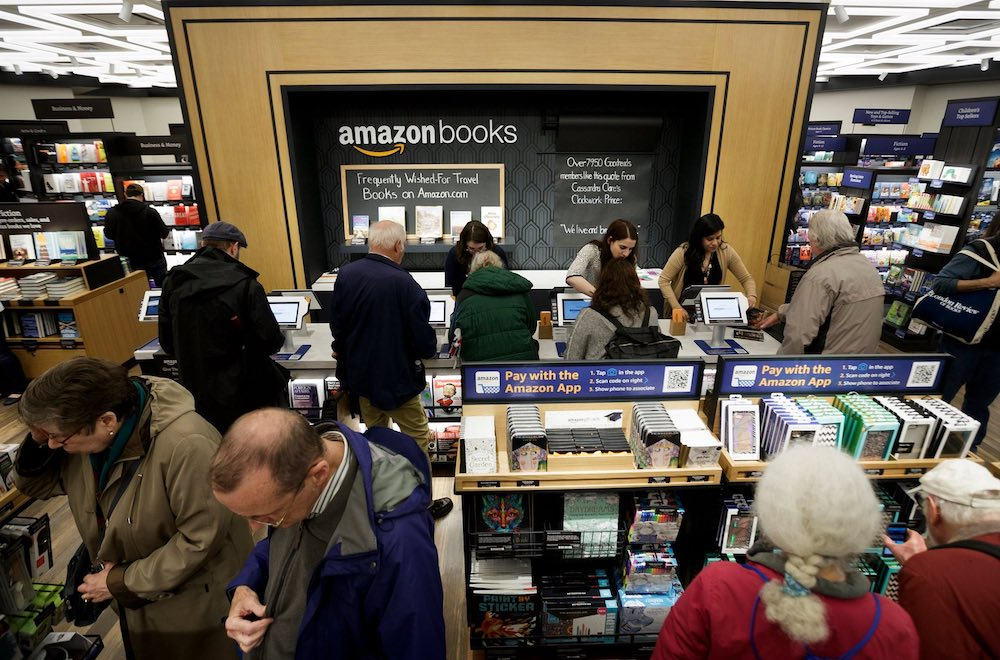 Amazon's First New York Bookstore Blends Tradition With Technology