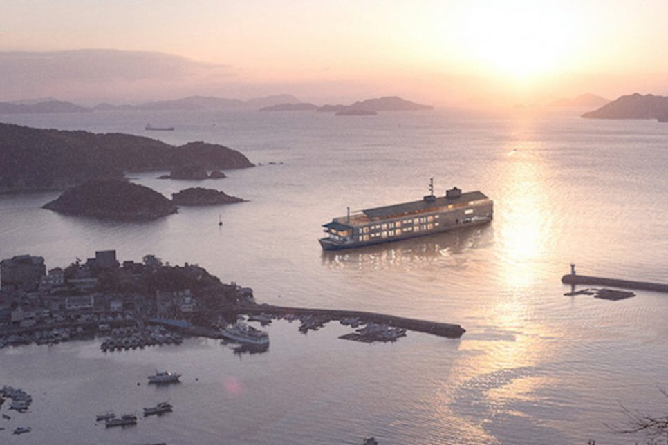 Floating Hotel Takes Guests On A Journey Through Japan's Inland Sea