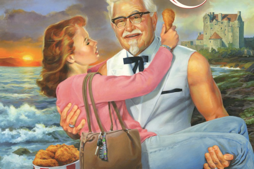 KFC Is Offering A Colonel Sanders Themed Romance Novel For Mother's Day