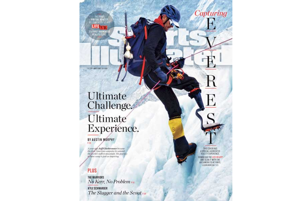 Sports Illustrated's First AR Issue Brings The Struggle Of Climbing Mount Everest To Life
