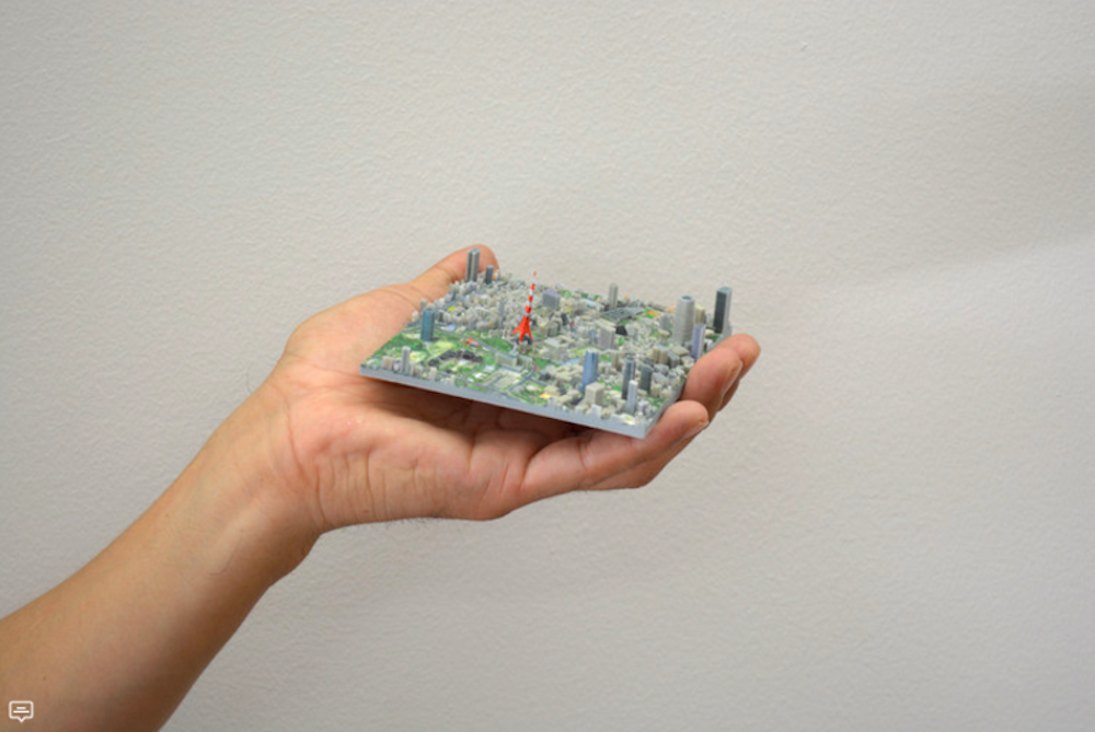 This Kickstarter Campaign Is 3D Printing Tokyo In 100 Pieces
