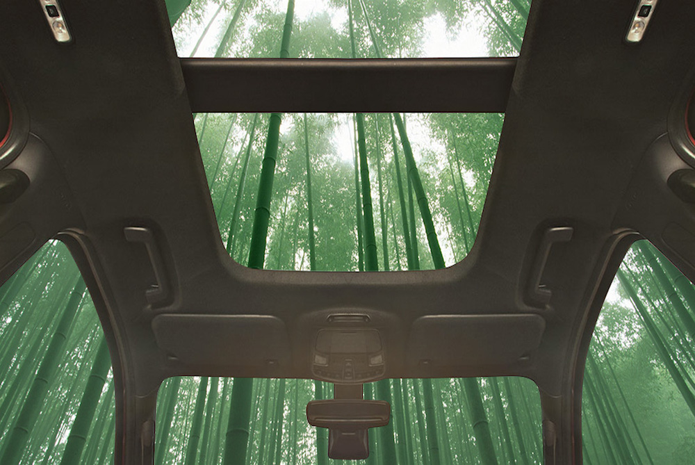 Ford Envisions Future Car Interiors Made Of Bamboo
