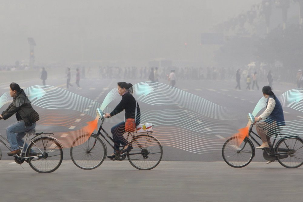 Smog Free Bike Inhales Pollution And Cleans The Air
