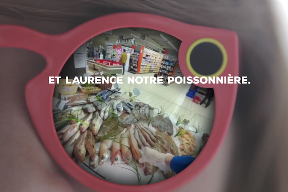French Supermarket Uses Snapchat To Prove How Fresh Their Fish Is