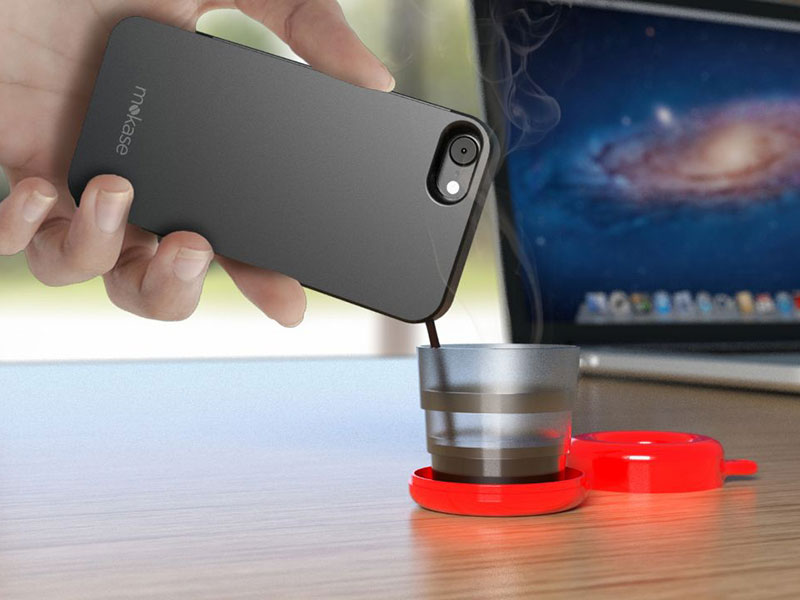 This Phone Case Turns Your Phone Into A Portable Espresso Machine