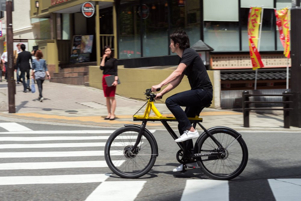 E-Bike Is Specifically Designed For The Trials Of Tokyo Commutes