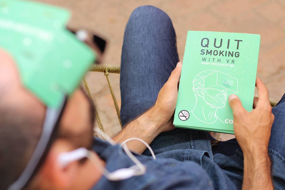 VR Could Help People Quit Smoking