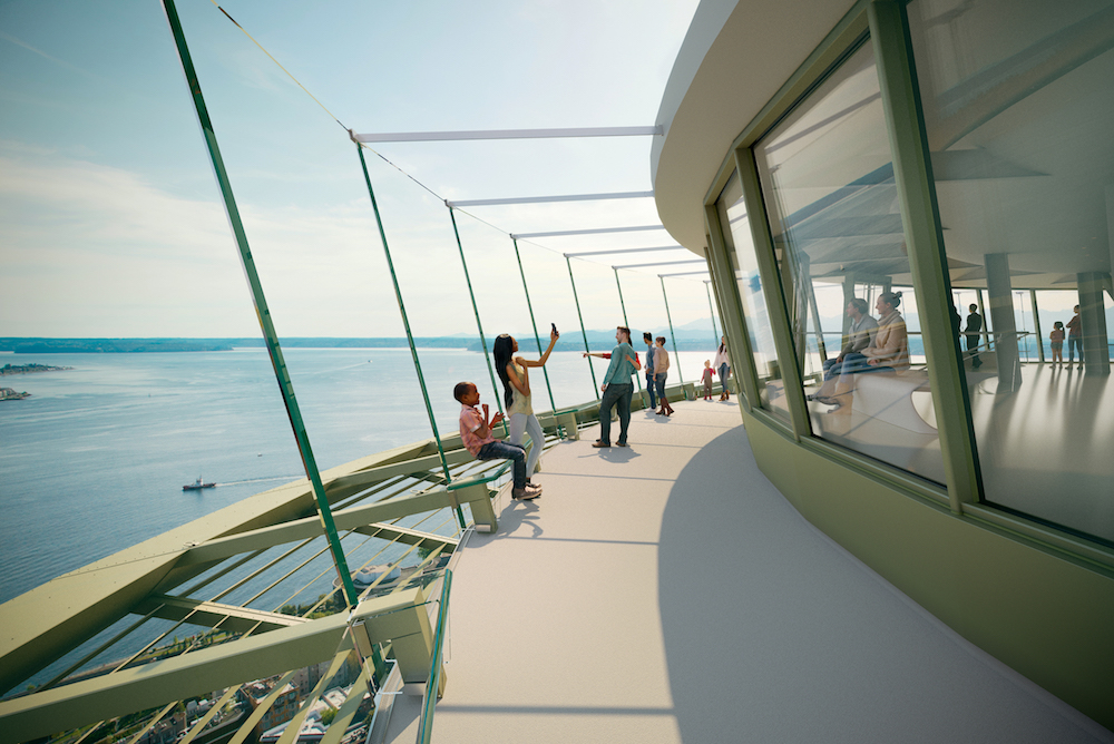 Seattle's Space Needle To Get An All-Glass Facelift