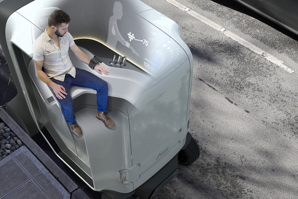 This Self-Driving Concept Car Is A Health Clinic On Wheels