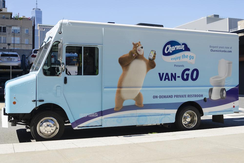 Charmin's 'Van-Go' Is An On-Demand Toilet Roaming NYC