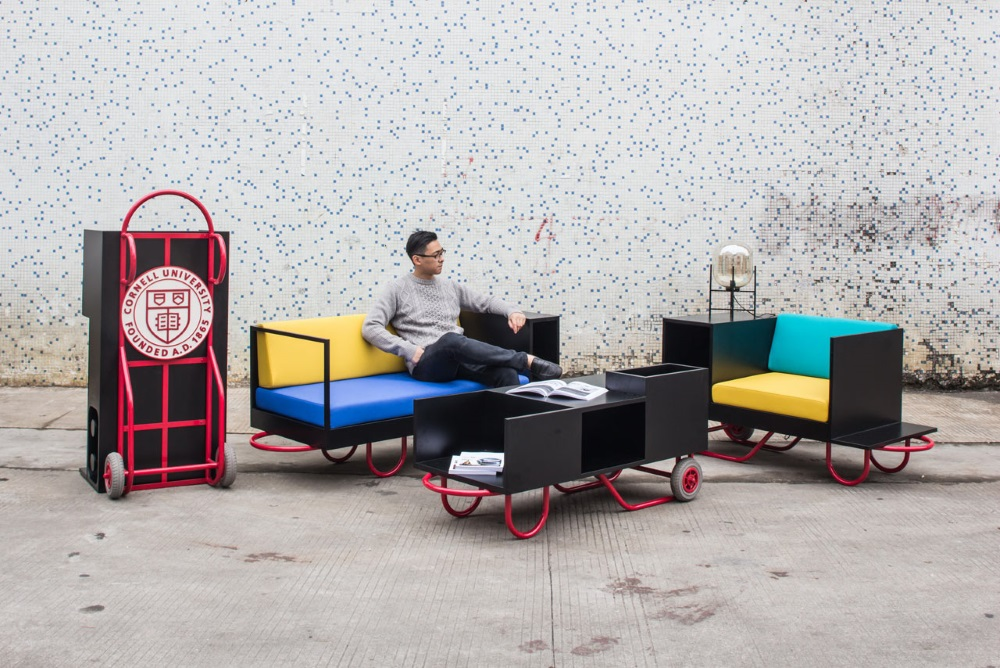 Moveable Furniture Set Was Designed By Alums For Cornell University