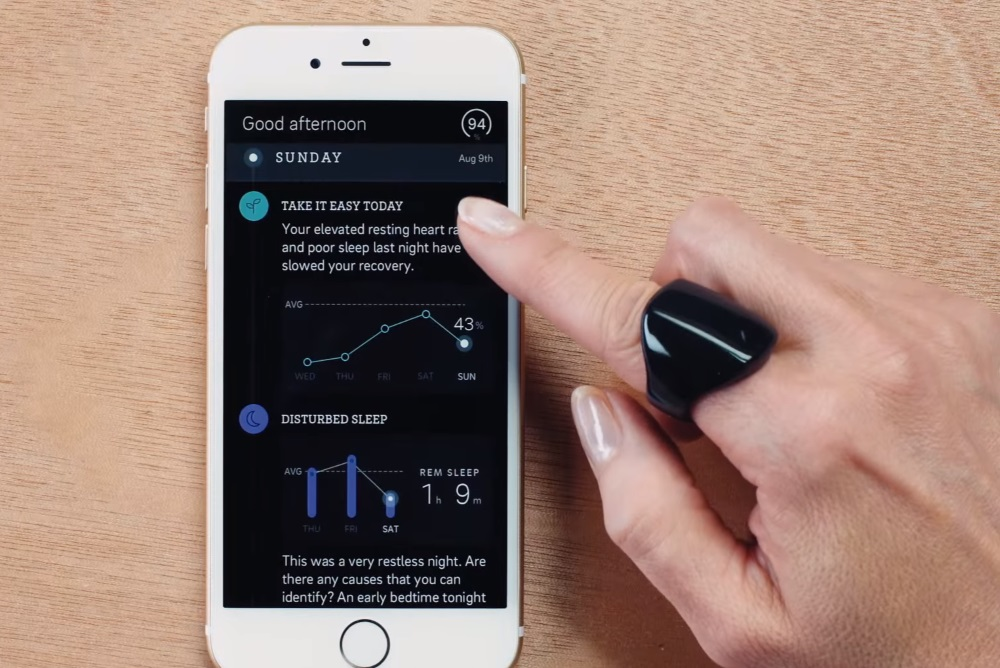 Bluetooth Ring Tracks Vital Signs 24/7