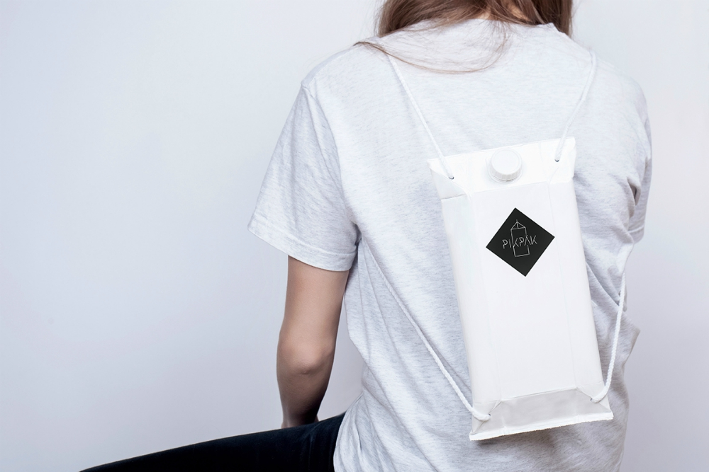 Drink Straight From Your Backpack At Music Festivals Thanks To This Tetrapack Rucksack