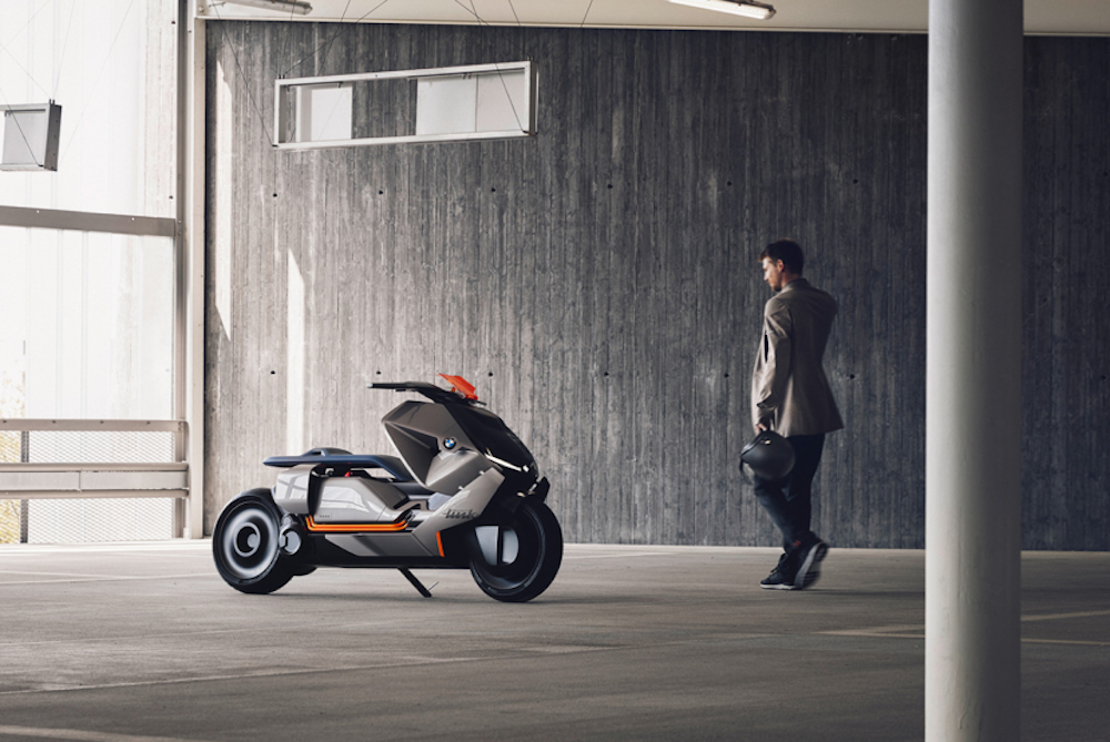 BMW Scooter Concept Knows Where You Want To Go