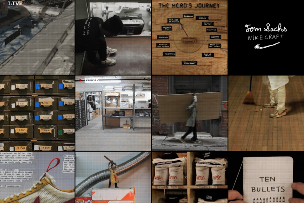 Nike And Tom Sachs' Space Camp Rewards Customers Who Tackle The Obstacle Course