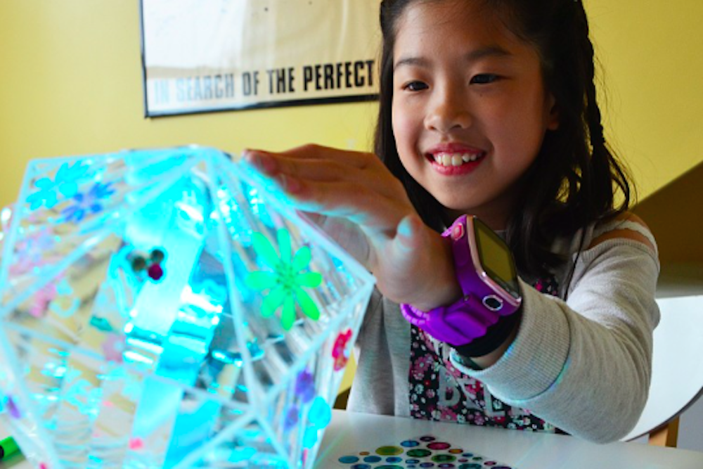 A Dance Party Lamp Empowers Girls To Like Science and Mathematics
