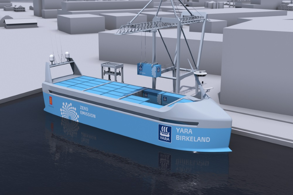 The World's First Emissions Free Cargo Ship Is Set To Sail In 2018