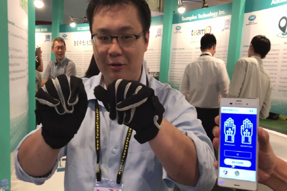 Gloves Translate Sign Language Into Text