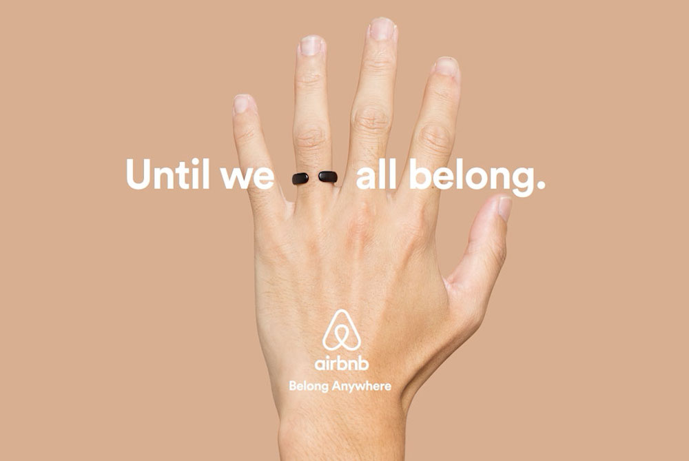 Airbnb Product Makes A Simple But Strong Protest Against Marriage Inequality