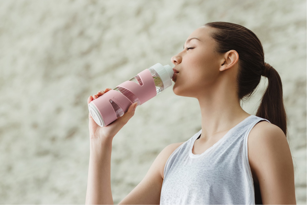 This Water Bottle Aims To Be A Complete Wellness System