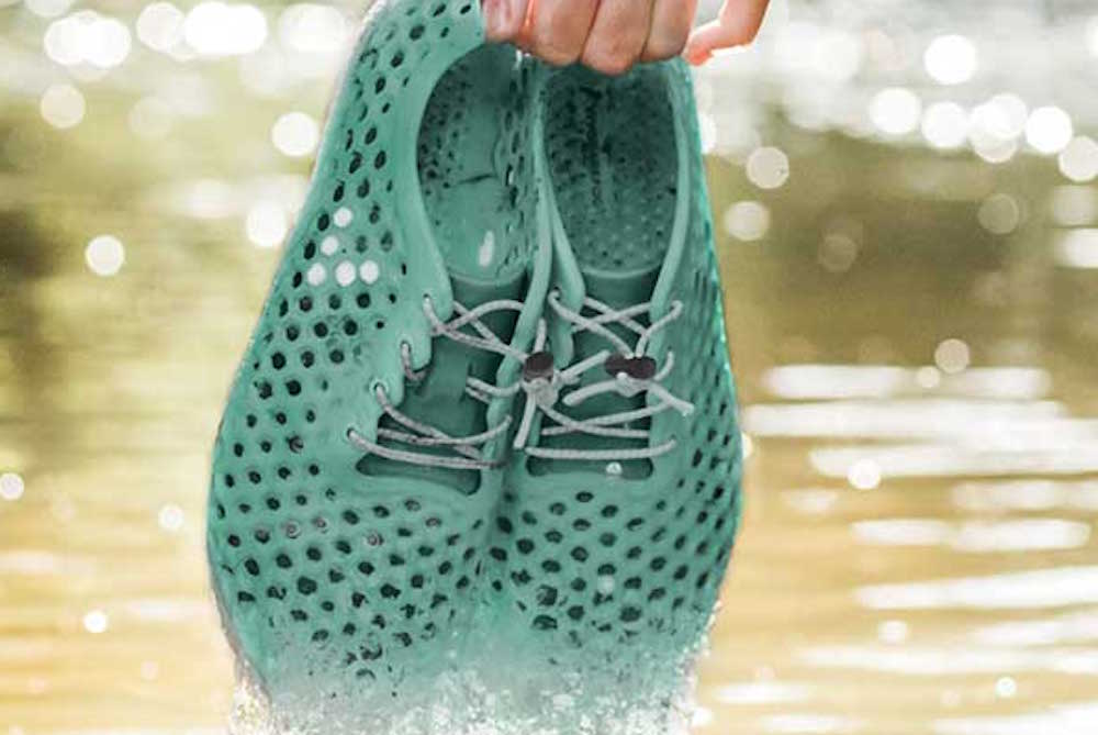 Sustainable Sneaker Made From Algae