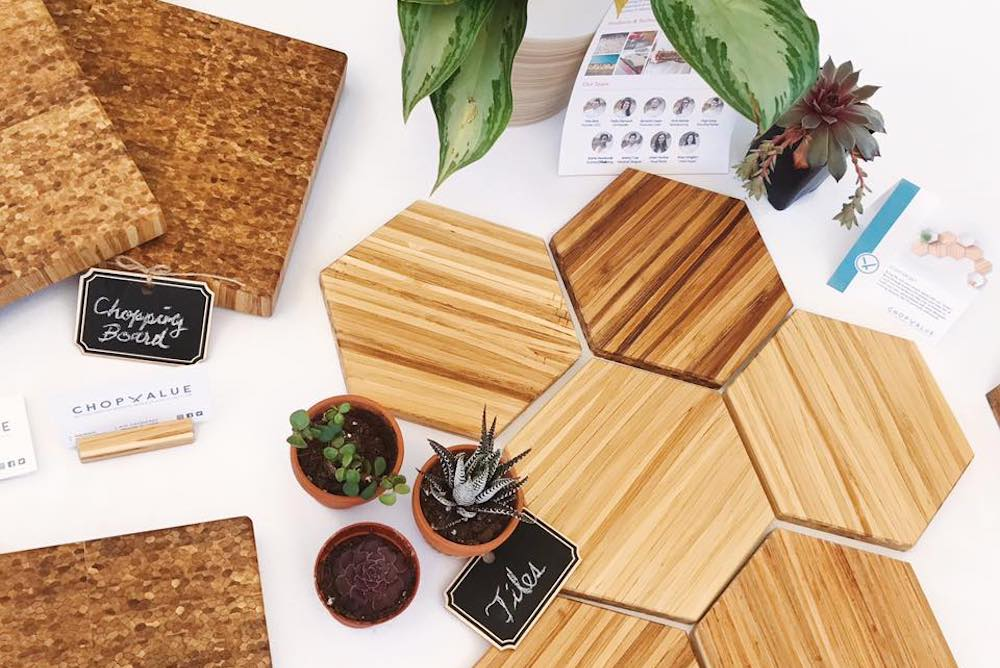 Upcycled Chopsticks Are Turned Into New Pieces Of Furniture