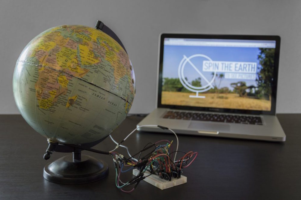 Spin This Globe To View Travel Photos From Around The World