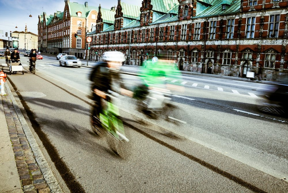 Copenhagen Cycle Jams Tackled With Electronic Information Panels