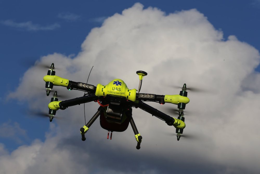 Research Shows That Defibrillator Drones Could Save Lives