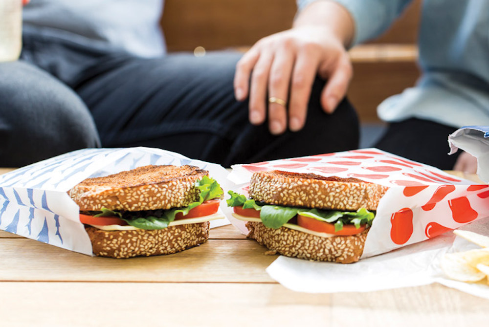 Help Reduce Plastic Waste With A Compostable Sandwich Bag