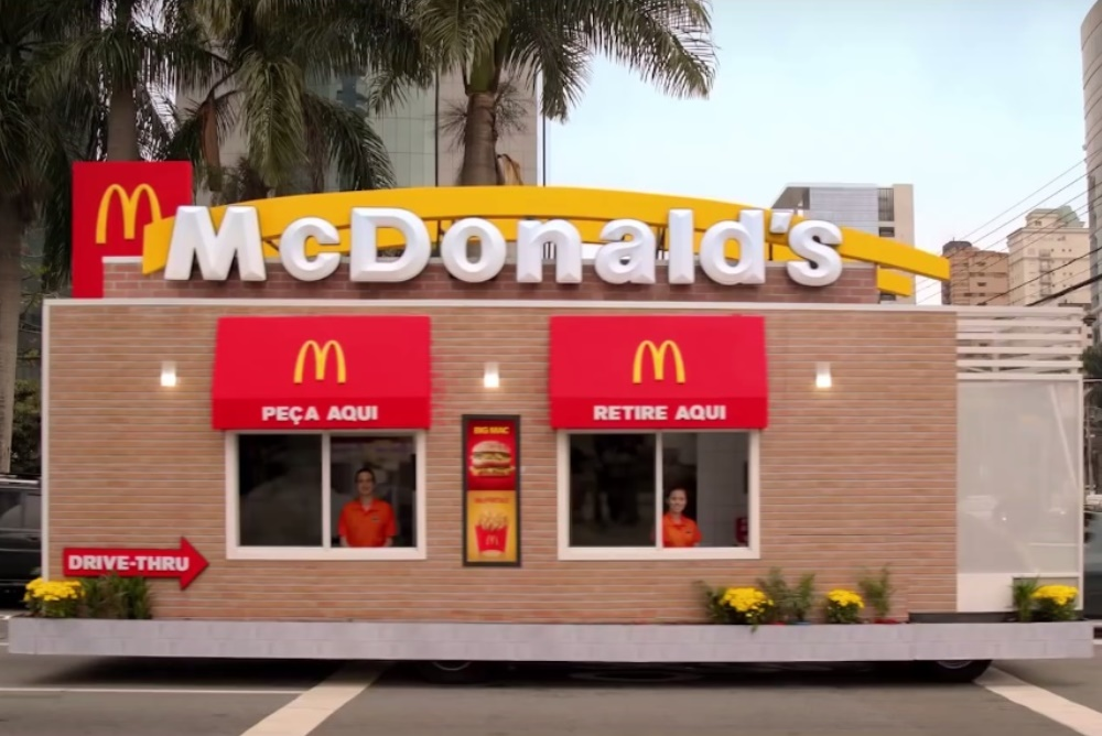 McDonald's Drive-Thru Actually Drives Up To Diners